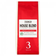 Tesco Original Blend Roast and Ground Coffee 227g