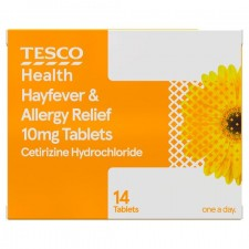 Tesco Hayfever and Allergy Relief 14