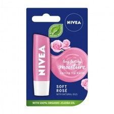 Nivea Lip Soft Rose Stick 4.8G