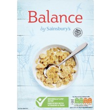 Sainsburys Healthy Balance Cereal  Crispy Rice and Wheat 500g