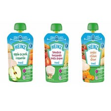 Heinz Baby Food 7 Month 24 Pouches Assortment