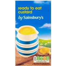 Sainsburys Custard Ready to Serve 1kg