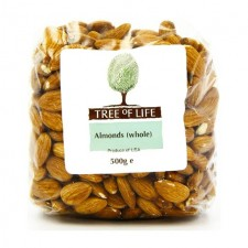 Tree of Life Whole Almonds 500g