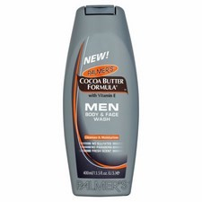 Palmers Mens Cocoa Butter Body and Face Wash 400ml