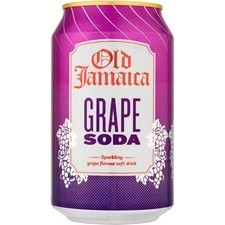 Old Jamaica Grape Soda 330ml Can