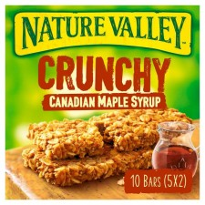 Nature Valley Crunchy Granola Bars Maple Syrup 5 pack
