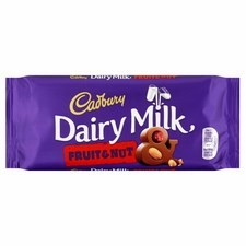 Cadbury Fruit and Nut 110g