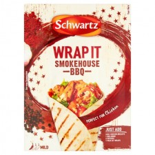 Schwartz Wrap It Smokehouse BBQ 30g
