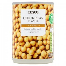 Tesco Chick Peas in Water 400g