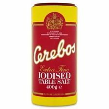 Cerebos Extra Fine Iodised Table Salt 400g