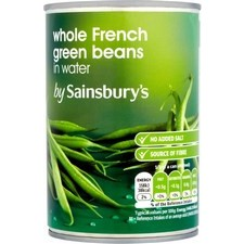 Sainsburys French Green Beans 400g