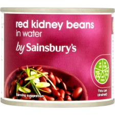 Sainsburys Red Kidney Beans in Water 215g
