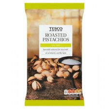 Tesco Roasted Salted Pistachio Nuts 300g