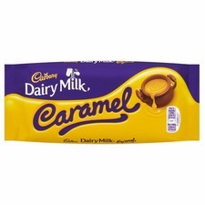 Cadbury Dairy Milk With Caramel 120g