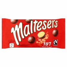 Maltesers Chocolate Standard Bag 37g